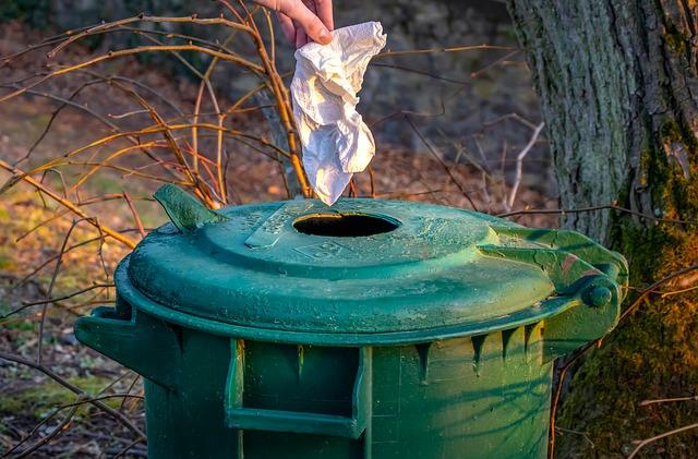 Le processus de décomposition des déchets